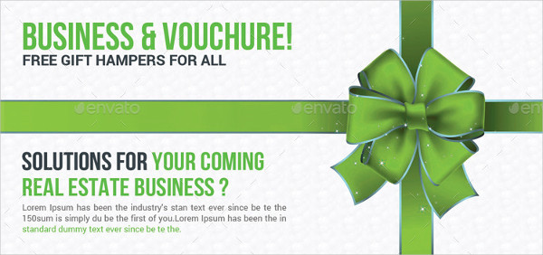 Corporate Business Gift Voucher Template