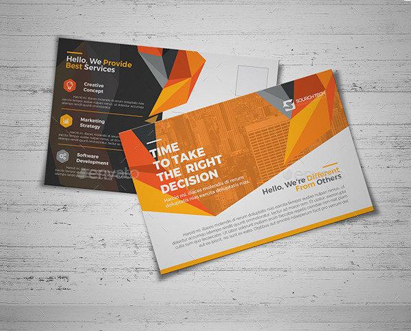 Corporate Business Postcards