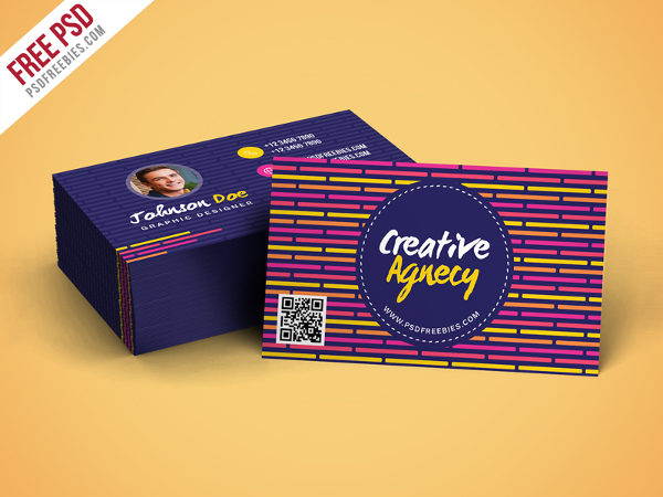 Creative Agency Business Cards Free Download
