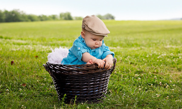 Creative Photography of a Baby
