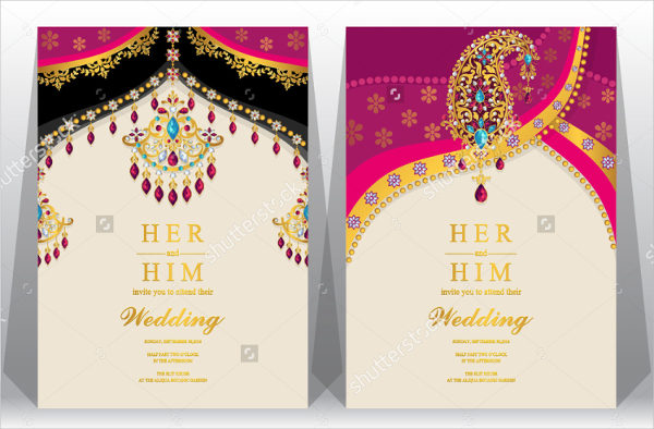 Creative Wedding Card