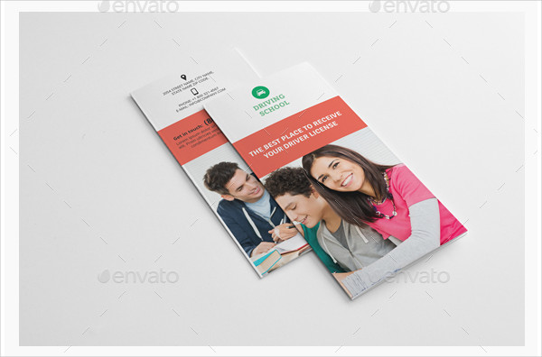 Customizable Driving School Brochures