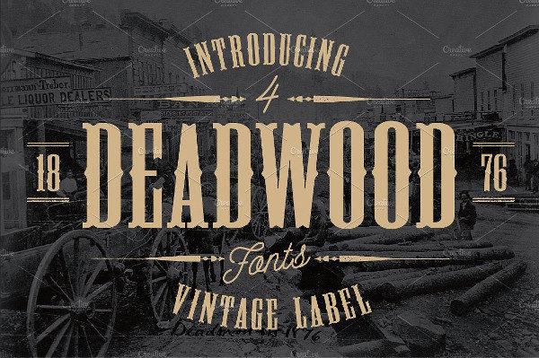 Deadwood Vintage Font