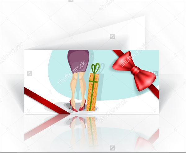 Decorative Womens Day Invitation Card