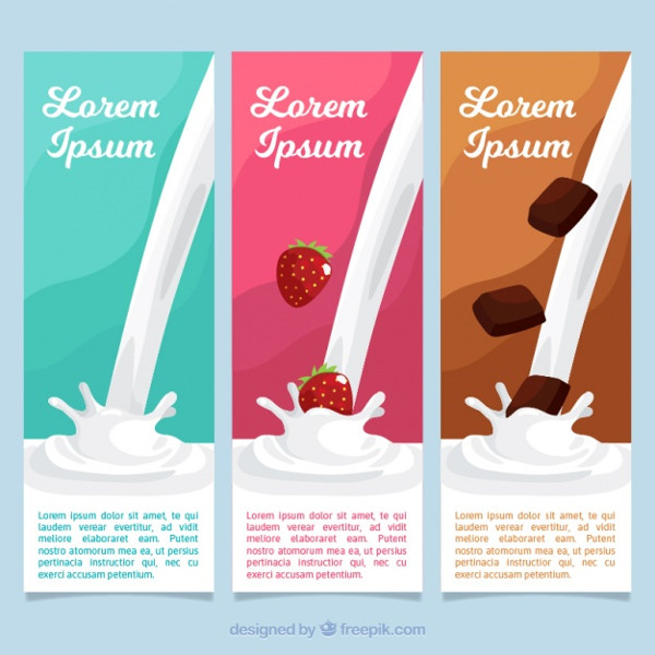 Delicious Milk Chocolate Package Designs