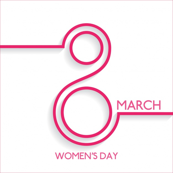 Design Womens Day Greeting Cards