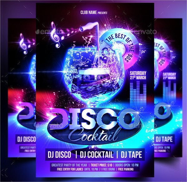 31 top disco flyer templates free premium download
