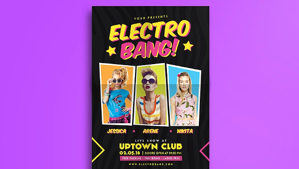 Disco Flyer Templates