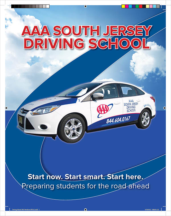 Driving School Student Brochure