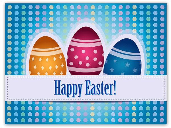 Easter Greeting Card Illustrator