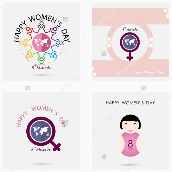 Event Women's Day Badge