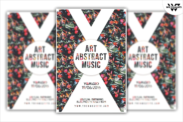Fashion Music Flyer Template