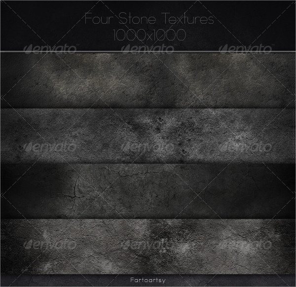 Four Unique Stone Textures