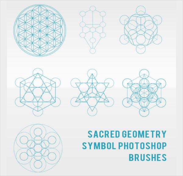 Geometry Symbol Photoshop Brushes