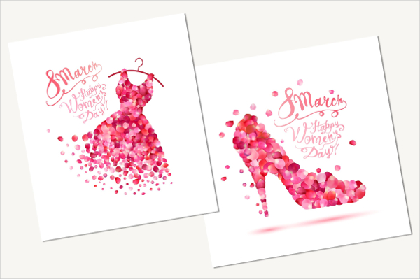 Glamour Women's Day Invitation Card