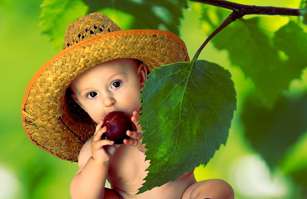 Healthy Baby Photography