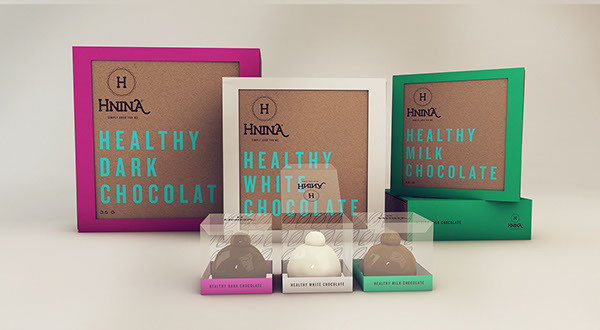 Healthy Chocolates Packaging