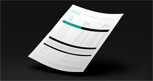 Illustrator Business Invoice Templates