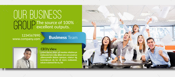 Interface Business Facebook Cover Templates