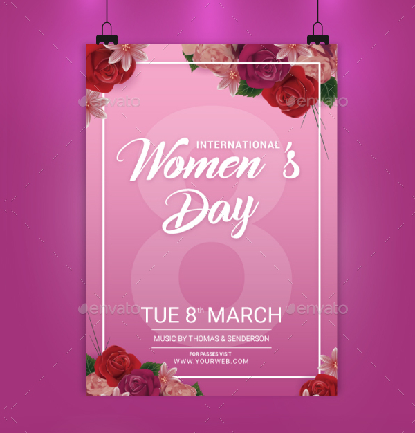 21+ Women's Day Flyer Templates