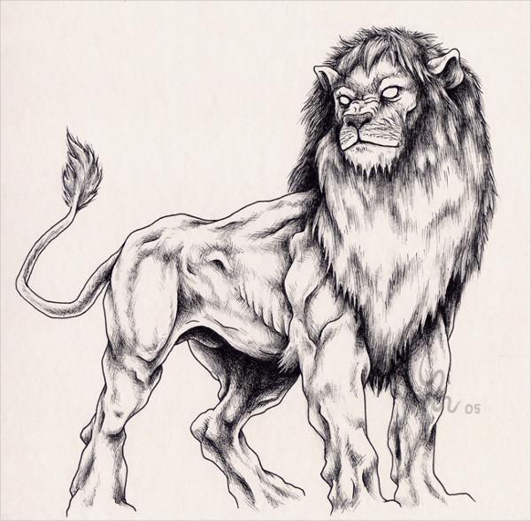 Lion for Emelie