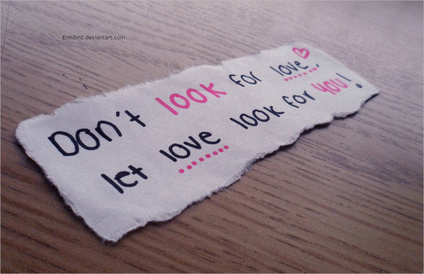 Looking Love Quotes