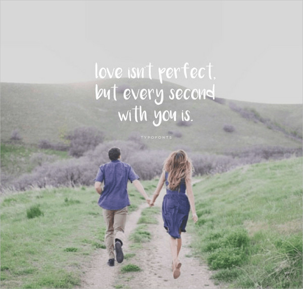 Love Isn't Perfect Quotes