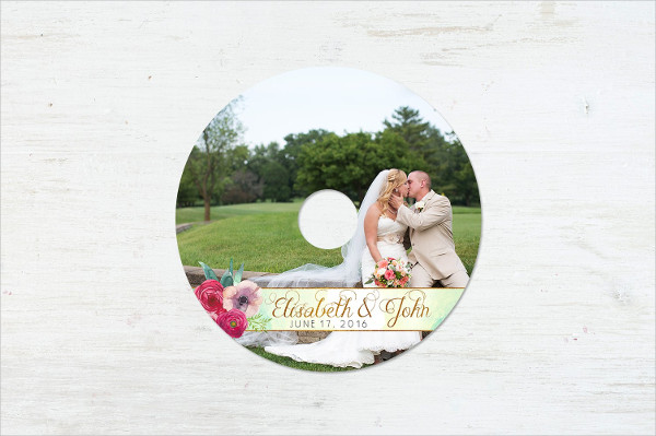 Lovers Cd Label Template