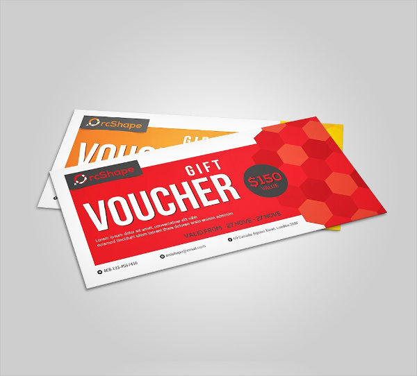Loyalty Gift Card Template