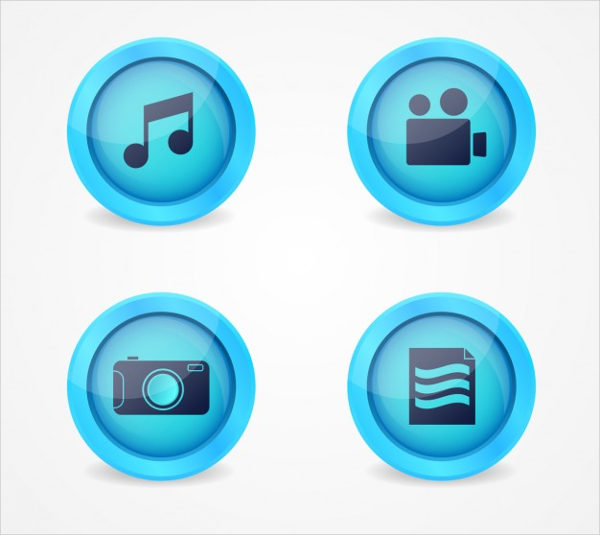 Multimedia Buttons Free Download