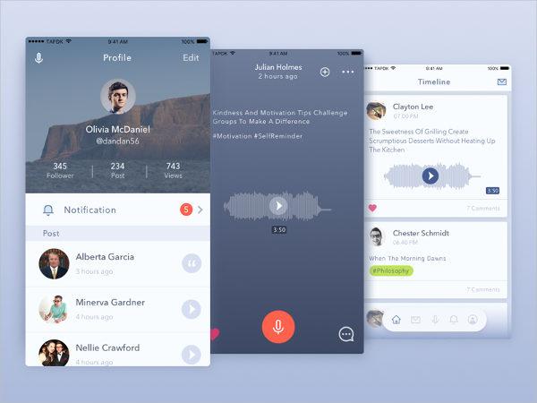 New Voice App