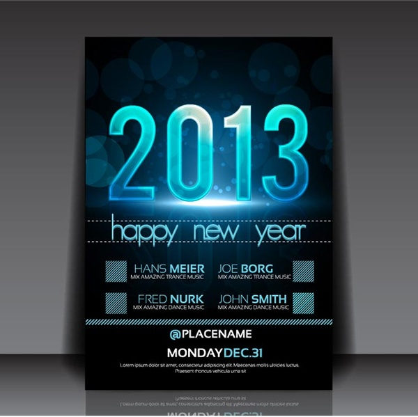 New Year Poster Free Download