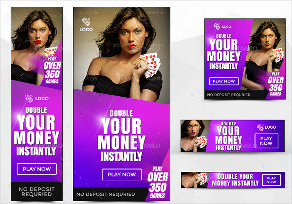 Awesome Quality Casino Banners