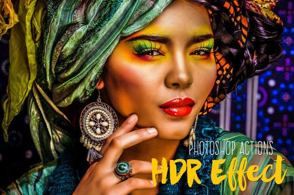Premium HDR Photoshop Action