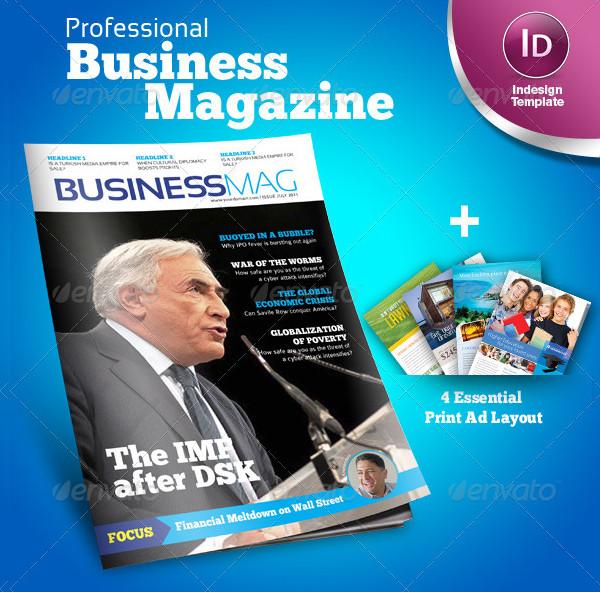 Profesional Business Magazine Template