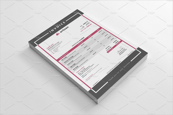 Project Business Invoice Templates