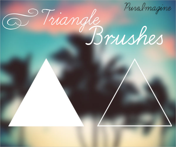 Pure Triangle Brushes