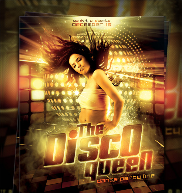 Queen Disco Flyer Templates
