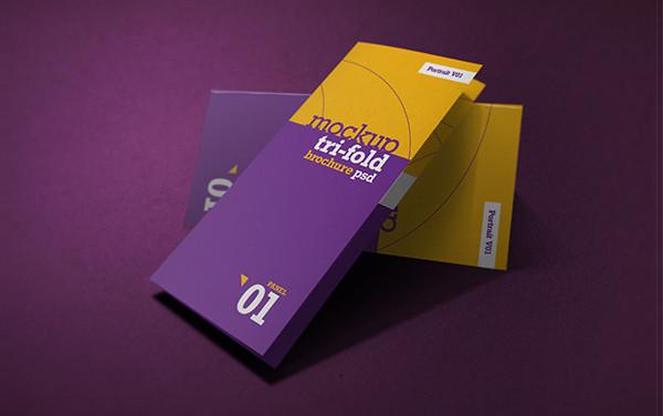 Realistic Brochure Mockup