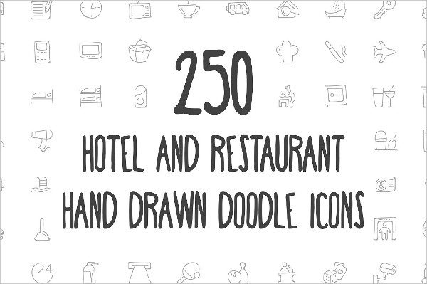 Restaurant Doodle Icon