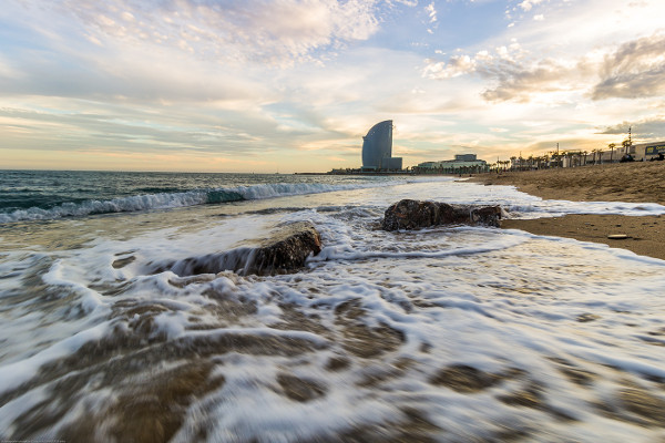 Seascape at Sunset Photography