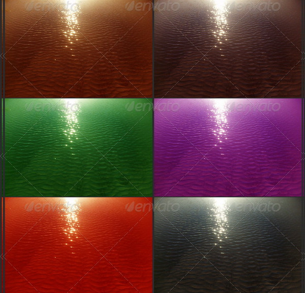 Sunlight Water Textures