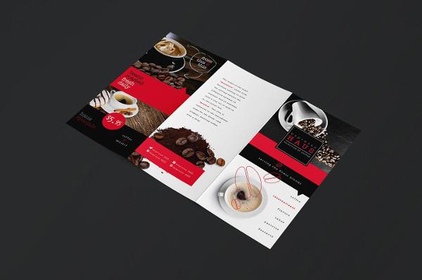 Trifold Café Menu Templates