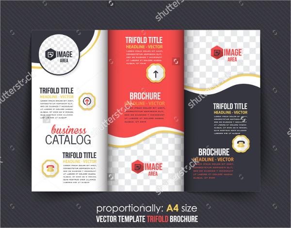 Vector Tri-Fold Brochure