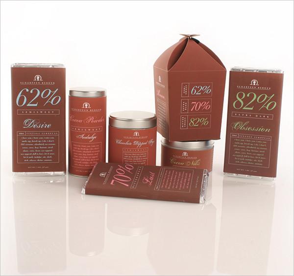 Vintage Packaging Design Of Chocolate