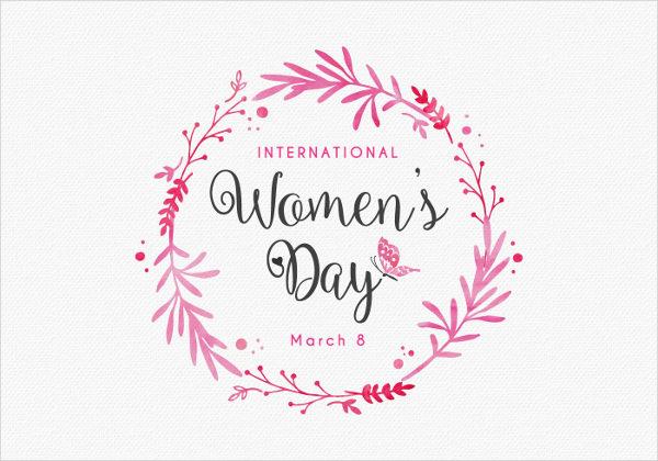 Women's Day Design Invitation Card Template