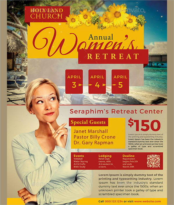 Women Church Flyer