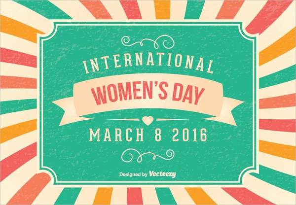 Women's Day Celebration Invitation Card