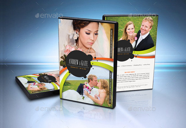 Amazing Wedding DVD Cover Template