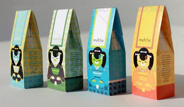 Asian Tea Packaging Design